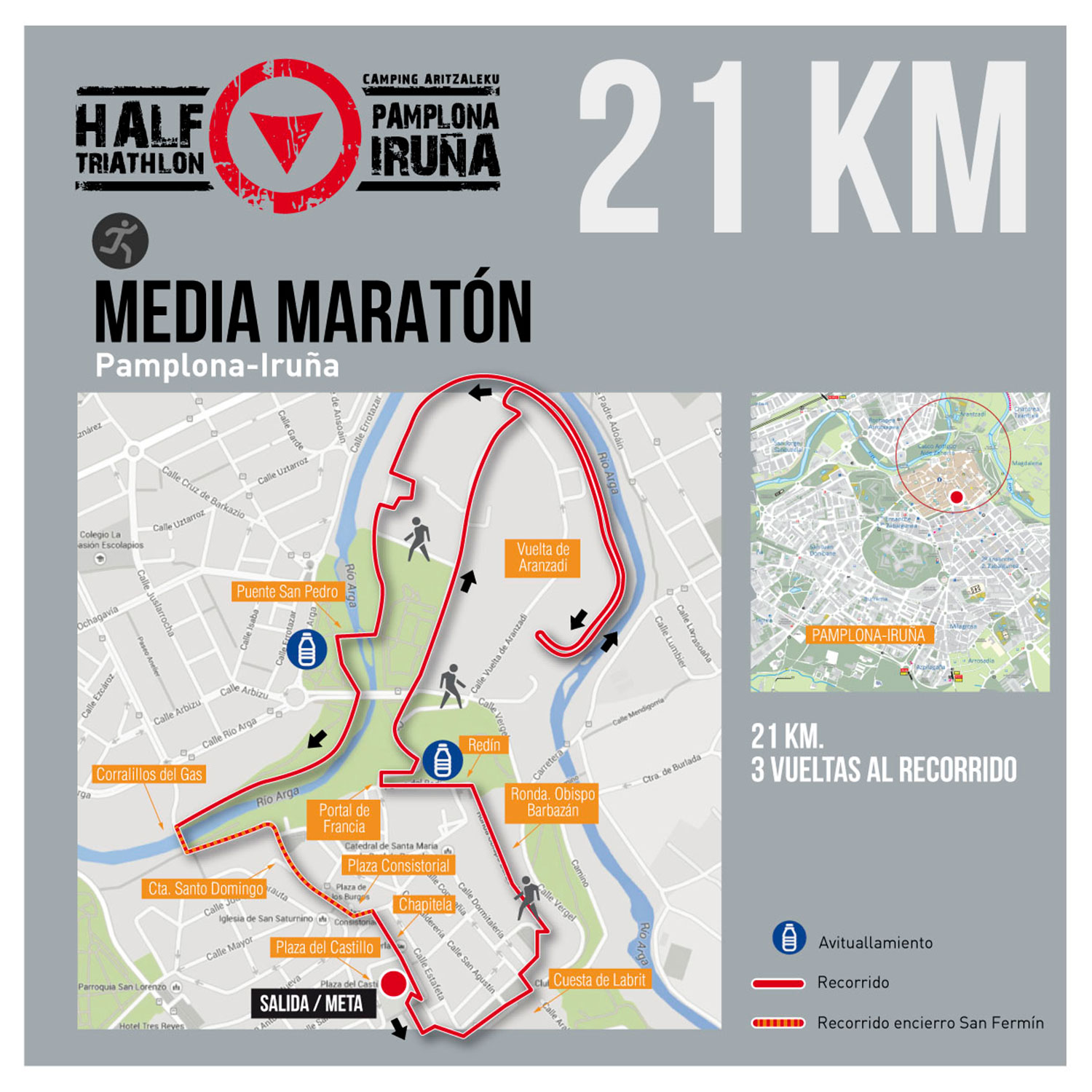 recorrido-media-maraton-triatlon-pamplona