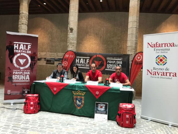 Arranca La Cuenta Atrás Del Half Triathlon Pamplona – Iruña Con La Presentación Oficial